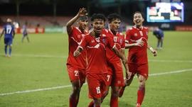 नेपाली फुटबल टोलीलाई राष्ट्रपति भण्डारीको बधाई