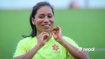 सरस्वतीको ओलम्पिक यात्रा