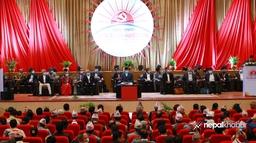 सुरु भयो एमालेको पहिलो विधान महाधिवेशन (फोटो फिचर)