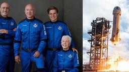 विश्वका सबैभन्दा धनी व्यक्ति बेजोस आफ्नै रकेटमा आज अन्तरिक्ष जाँदै
