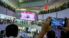 हङकङमा ओलम्पिक हेरिरहँदा चिनियाँ राष्ट्रिय गानको विरोध गर्ने व्यक्ति गिरफ्तार