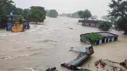 वर्षा र बाढीबाट भारतमा मृत्यृ हुनेको संख्या २२ पुग्यो