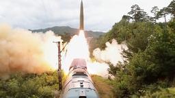 उत्तर कोरियाद्वारा रेलबाट क्षेप्यास्त्र प्रक्षेपण, लगत्तै पण्डुब्बीबाट दक्षिणको परीक्षण