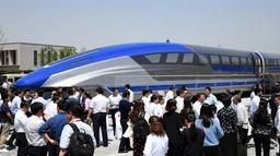 चीनले सार्वजनिक गर्यो सबैभन्दा छिटो कुद्ने म्यागलेभ रेल, गति प्रतिघण्टा ६ सय किमी
